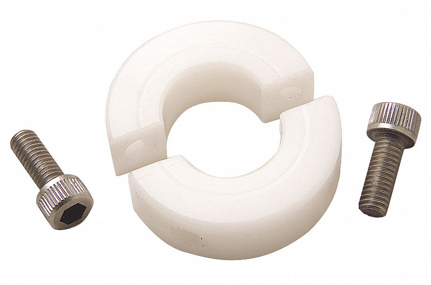 Ruland manufacturing shaft collar clamp pc mm plastic