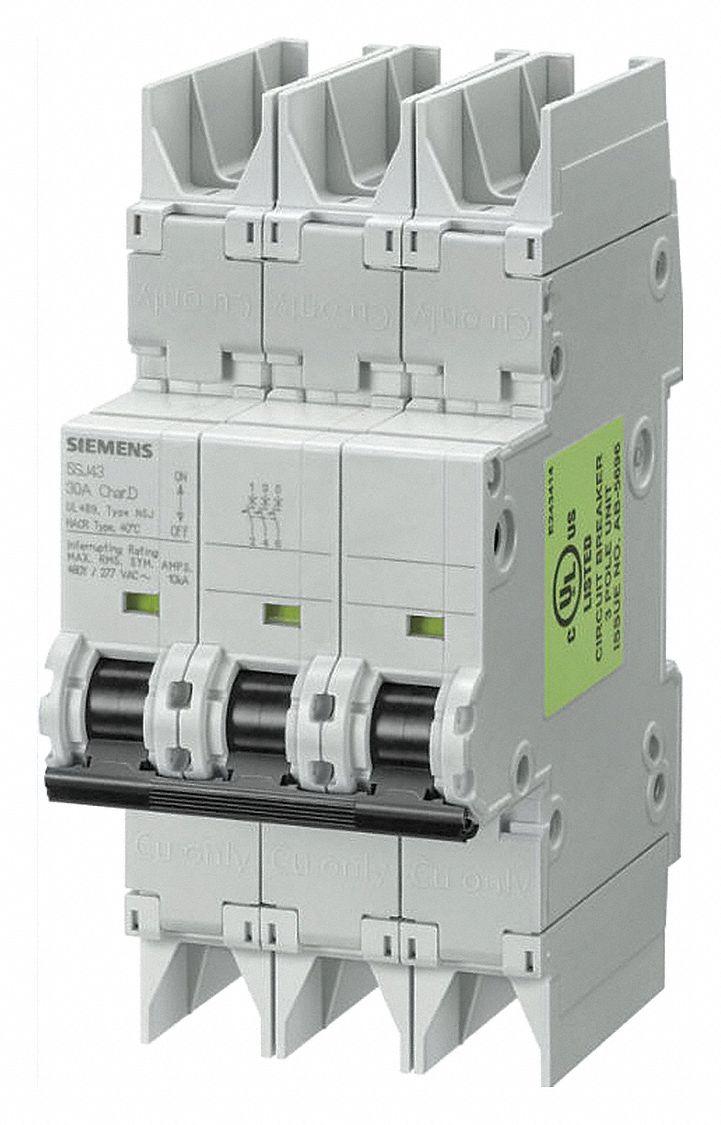 Siemens Miniature Circuit Breaker 16 Amps C Curve Type