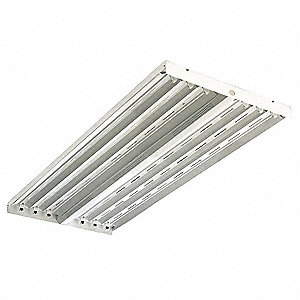 220W Fluorescent High Bay Fixture, 120 to 277VAC Voltage, Suggested Lamp Item No. 5AE35