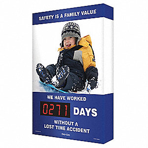 Scoreboard,Safety Value Boy Snow,24 x 36