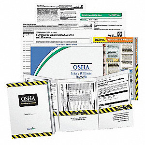Poster Recordkeeping,OSHA,English