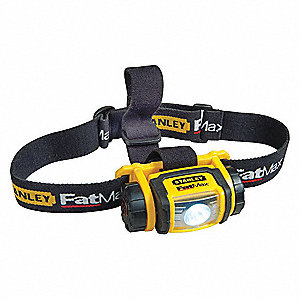 Headlamp,80 lm,LED,Head Strap