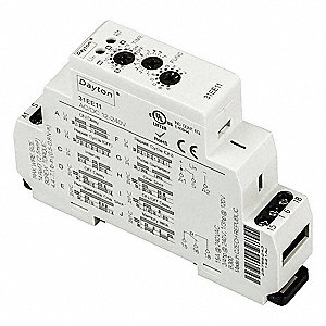 dayton multi function timing relay 12 to 240vac dc 15a. Black Bedroom Furniture Sets. Home Design Ideas