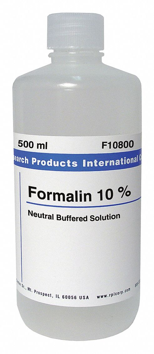 Rpi 10 Pct Neutral Buffered Formalin Liquid 500ml 1 Ea