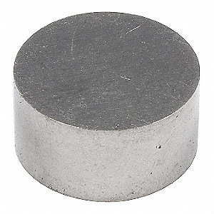 Raw Alnico Magnet,3/8 in.