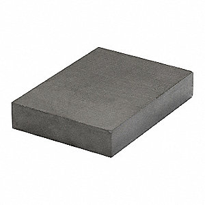 Block Magnet,Ceramic,30 lb.