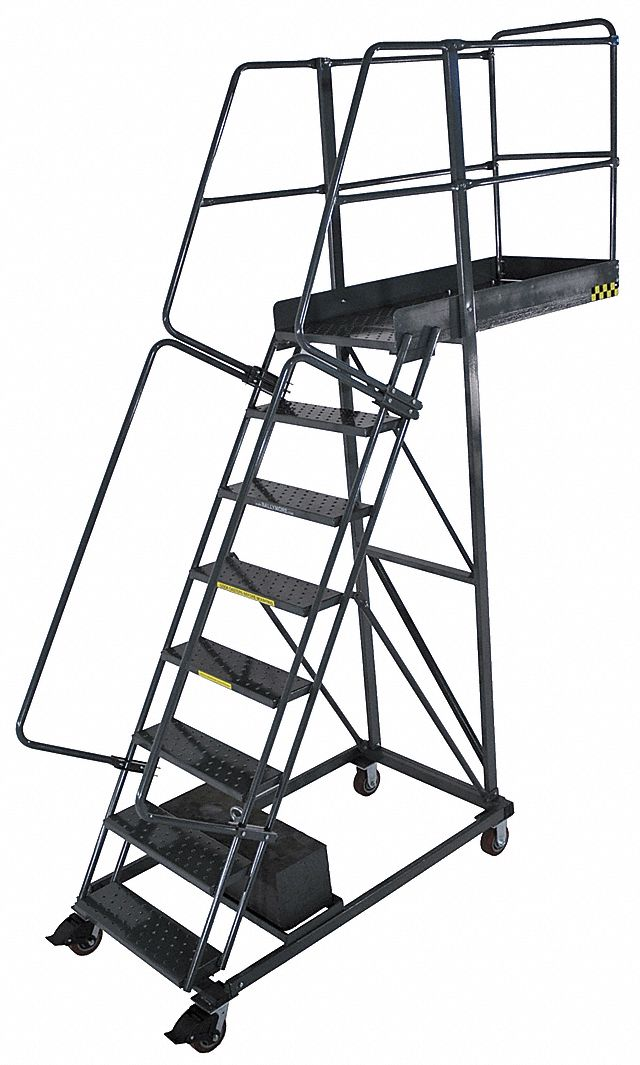 Ballymore Unsupported 8 Step Cantilever Rolling Ladder