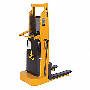 "Straddle Stacker, 2000 lb., Fork Width 4"", Fork Length 30"", Lifting Height Max. 60"""