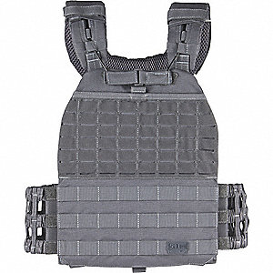 Plate Carrier,Uni,Storm Gry,36in.to52in.