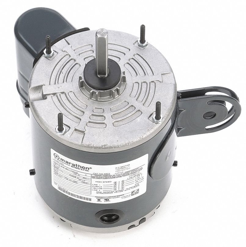 Marathon motors 1 4 hp pedestal fan motor permanent split for Best lubricant for electric fan motor