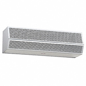 Air Curtain, 4000 cfm, 70 dBA @ 10 Feet, Max. Door Width 3-1/2 ft., Max. Mounting Height 7 ft.