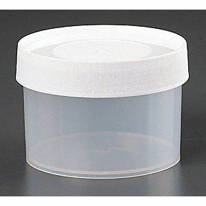 500mL Jar, Wide Mouth, Polypropylene, PK 6