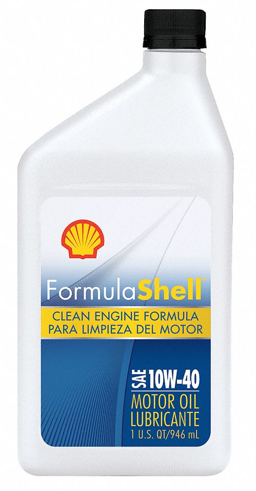 Formula shell motor oil 1 qt 10w 40 conventional 33gp24 for Formula shell motor oil