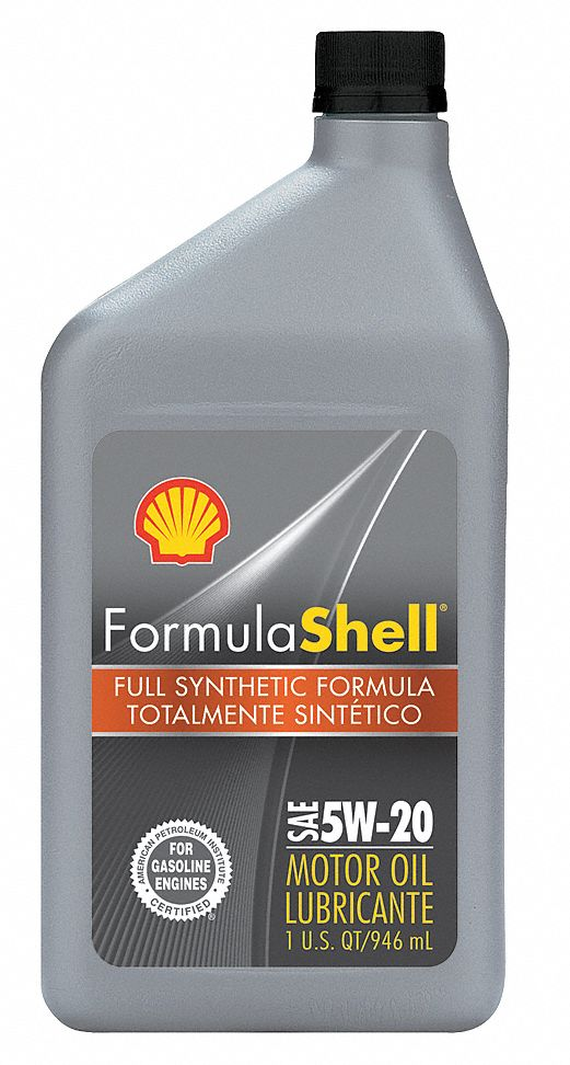 Formula shell motor oil 1 qt 5w 20 synthetic 33gp38 for What is synthetic motor oil made from