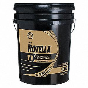 Rotella Diesel Motor Oil Rotella T1 5 Gal 30w 33gp52