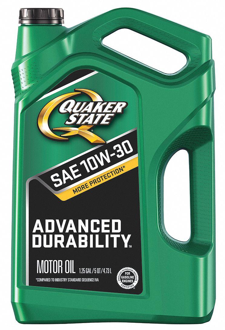 Quaker State Motor Oil Adv D Durability 5 Qt 10w 30