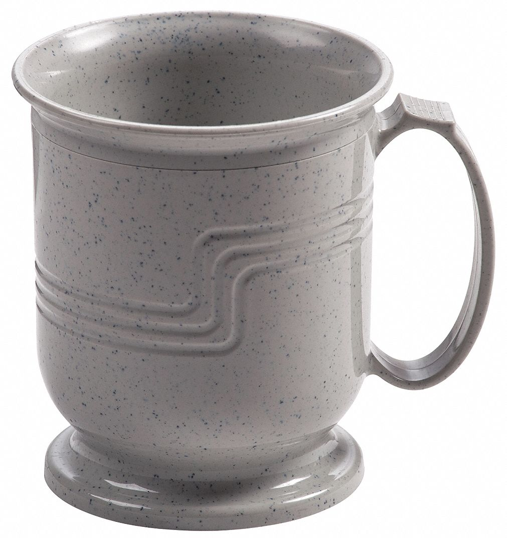 Cambro Mug Insulated 8 Oz Speckled Gray Pk48 33he85