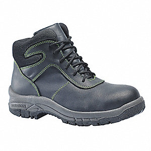 Work Boots, Size 4, Toe Type: Steel, PR