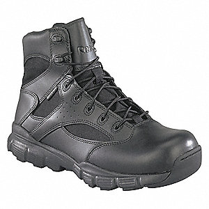 Tactical Boots,11W,6in,Black,PR