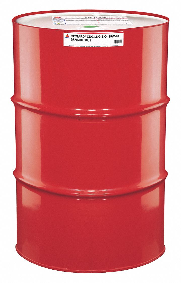 Citgo motor oil synthetic blend drum 55 gal 33me44 for Motor oil 55 gallon drums wholesale