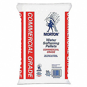 50 lb. Water Softener Salt, Commercial Grade Series, Granules, 99.4% Purity