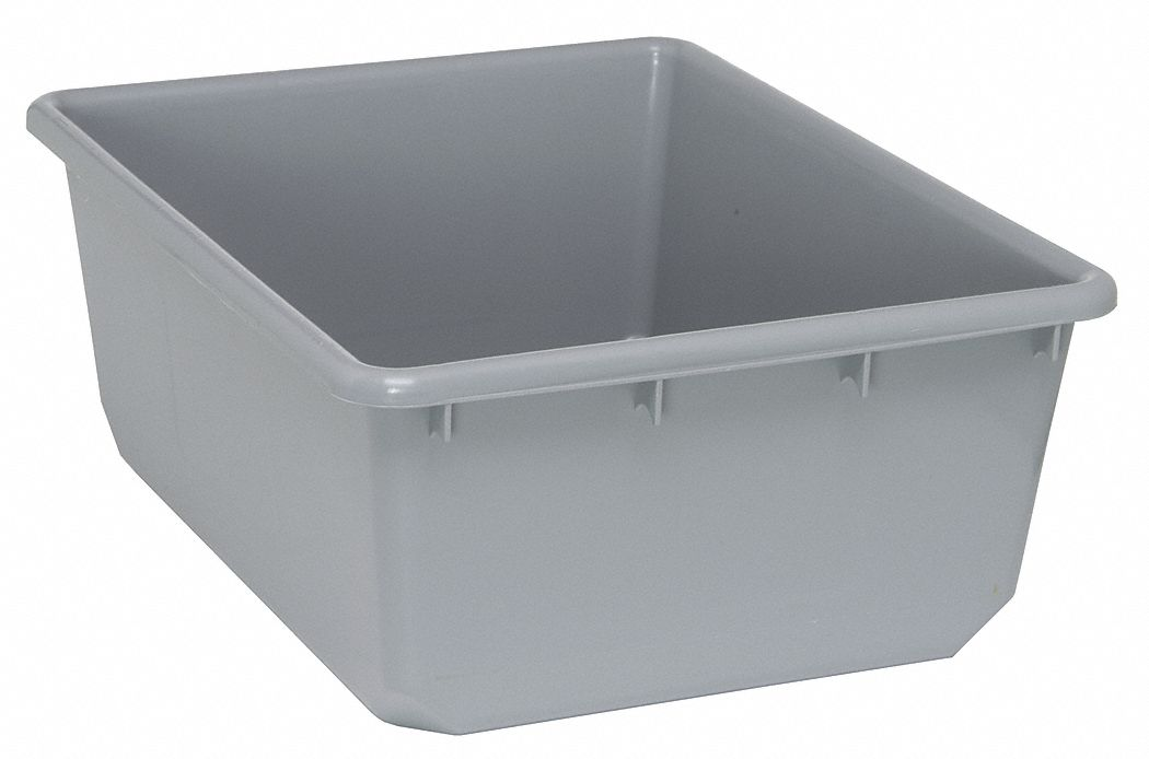 Quantum Storage Systems Nesting Container Gray 9 1 2 Quot H X