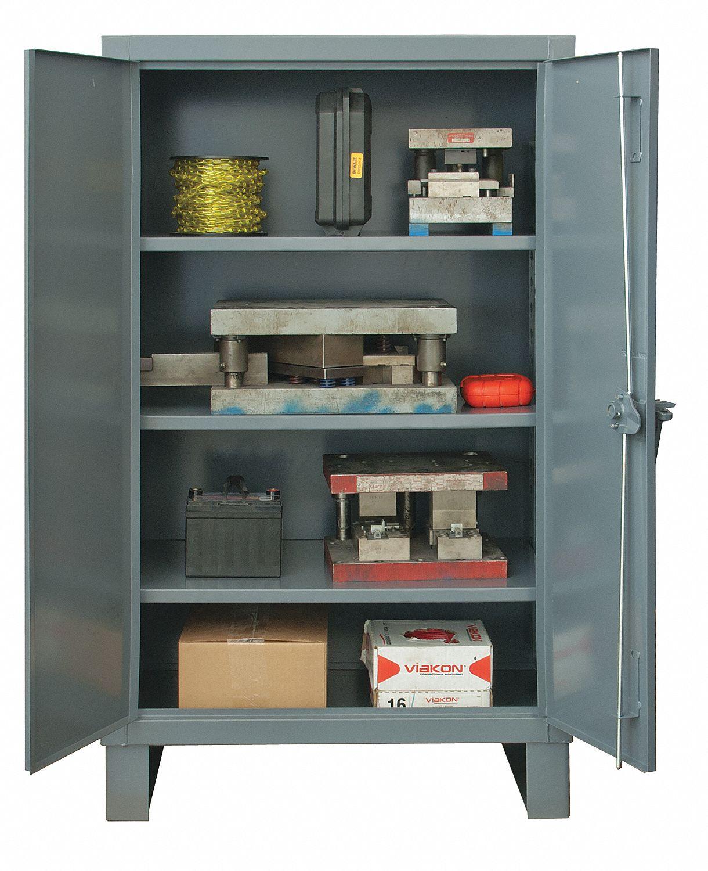 Durham Storage Cabinet Standard Gray Assembled 34a954