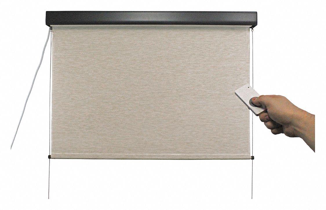 Keystone fabrics exterior sun shade maui 72 in w motor for South maui motors inventory