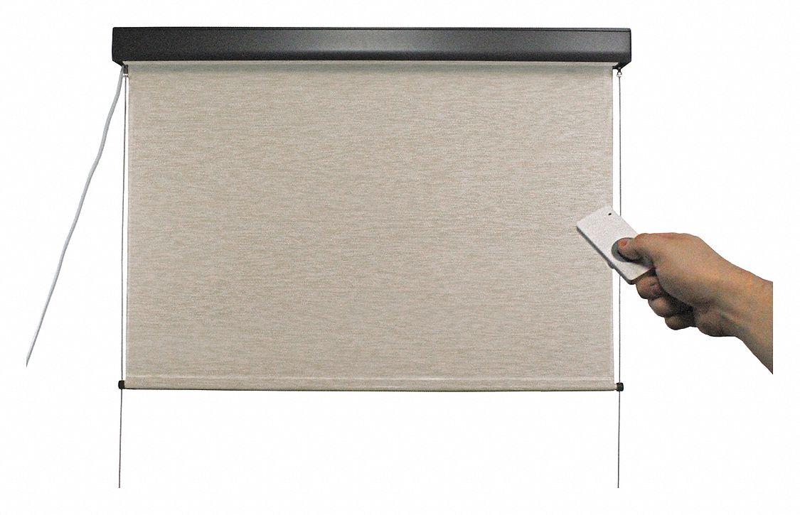 Keystone fabrics exterior sun shade maui 96 in w motor for South maui motors inventory