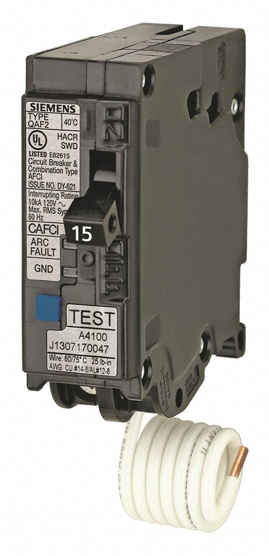 Siemens Miniature Circuit Breaker  Amps 15  Circuit