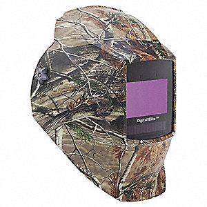 Auto Darkening Welding Helmet, Green/Brown, Digital Elite, 8 to 13 Lens Shade