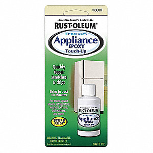 Rust Oleum Appliance Touch Up Paint Biscuit 0 6 Oz