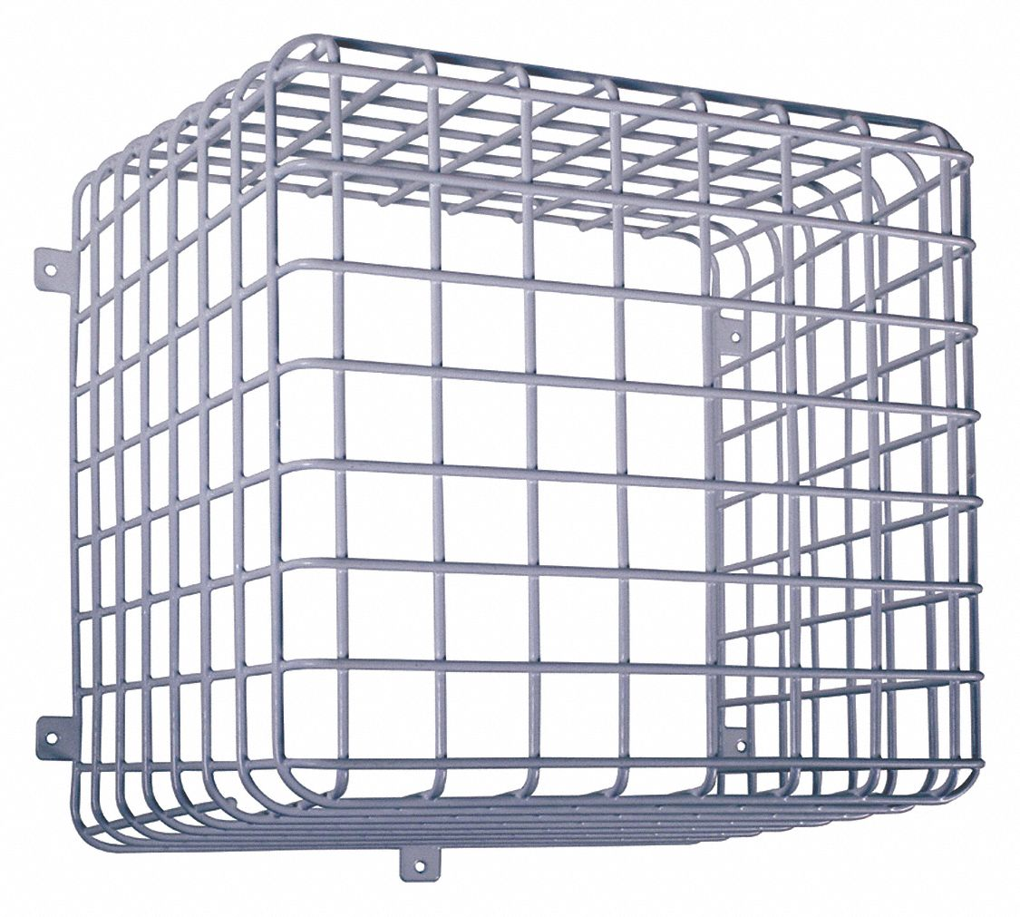 Safety Technology International Wire Cage  Coated Steel
