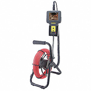 Pipe Inspection Borescope w/72 Ft Probe