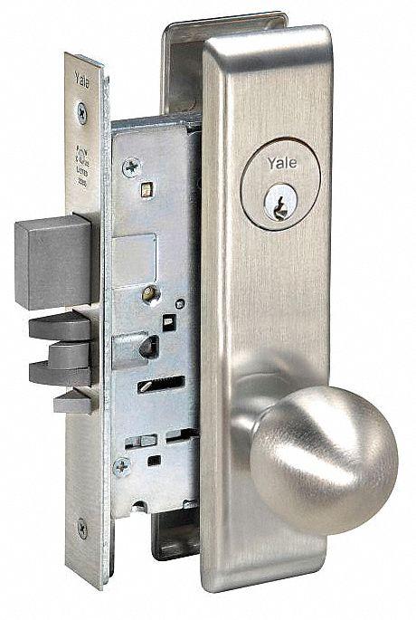 Yale Heavy Duty Institution 8800 Series Mortise Lockset