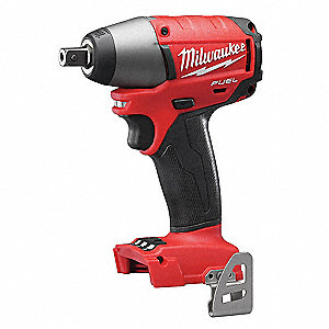 "1/2"" Pin Detent Cordless Impact Wrench, Voltage 18.0 Li-Ion, Bare Tool (No Battery)"