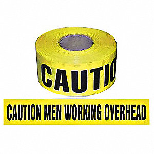 Safety Marking Tape,Roll,3In,1000 ft. L