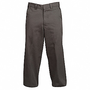 Twill Pants,Cotton/Poly,Charcoal,42x30