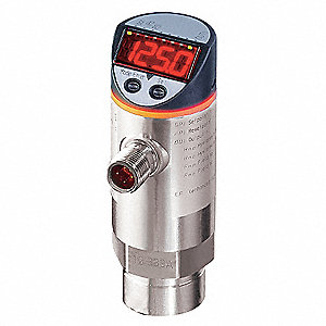 Digital Pressure Switch, Compatible With Air and Liquids, Power Required 18 to 36VDC