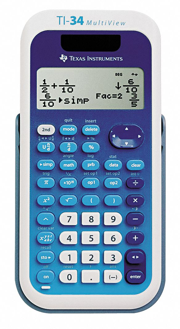 Texas Instruments Multiview Calculator 16 X 4 Display