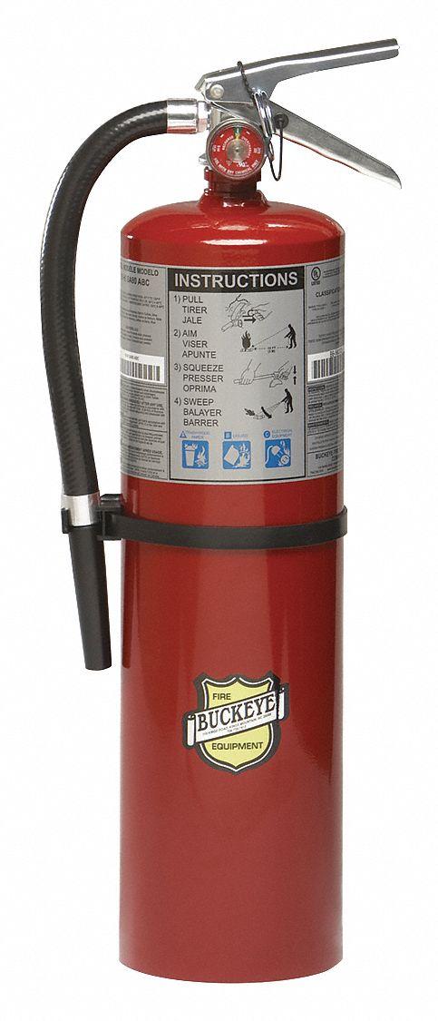 Buckeye Fire Extinguisher Dry Chemical Monoammonium