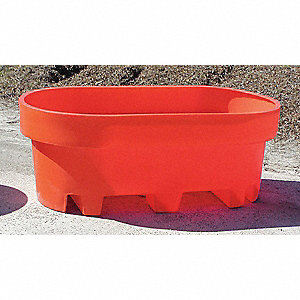 Spill Containment Basin,100 gal,Org