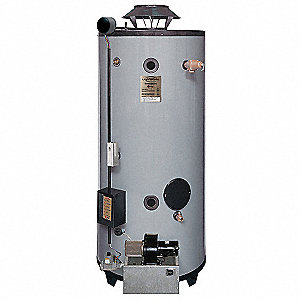 Commercial Gas Water Heater, 75 gal. Tank Capacity, Natural Gas, 125,000 BtuH