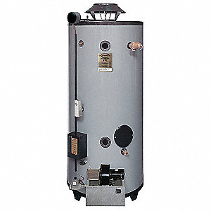 Commercial Gas Water Heater, 76 gal. Tank Capacity, Natural Gas, 199,900 BtuH