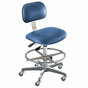 "Bridgeport (BT) Series Royal Ergonomic Chair, 19 to 26"" Seat Height Range, Upholstered Vinyl"