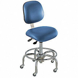 "Elite (EE) Series Royal Ergonomic Chair, 27 to 32"" Seat Height Range, Upholstered Vinyl"