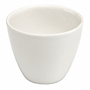 Crucible, Tall Form, 25mL, Porcelain