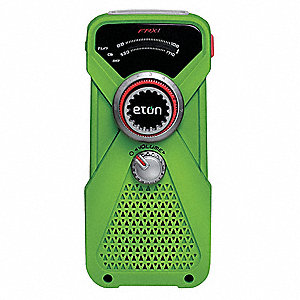 Handheld Multipurpose Weather Radio,Grn