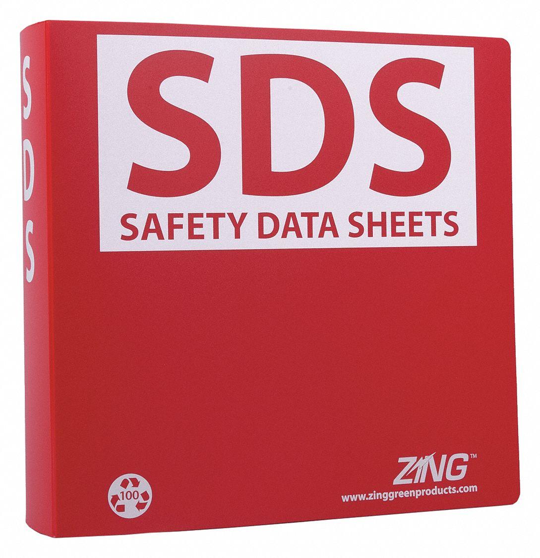 ZING GHS SDS Binder,2-1/2 in. - 36D423|6031 - Grainger