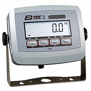 Weight Indicator Display,4x4x7 In.